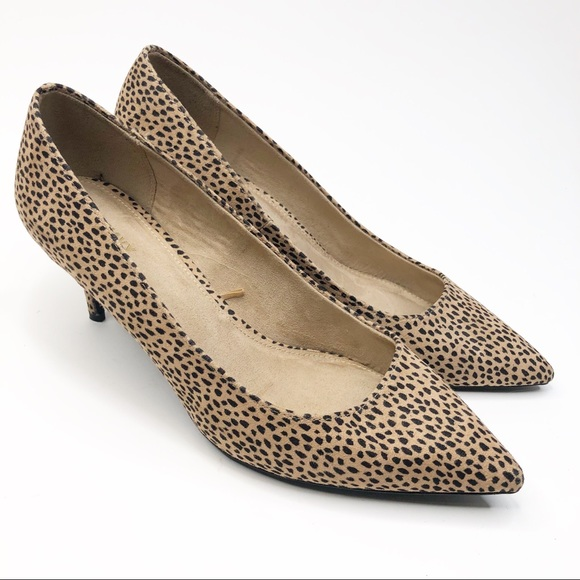 Old Navy Spotted Leopard Print Heels